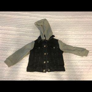 Hudson black jean jacket